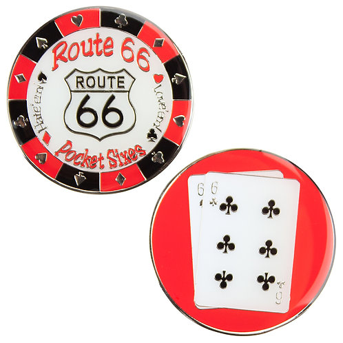 Route 66 (Pocket Sixes) Card Guard