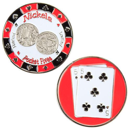 Nickels (Pocket Fives) Card Guard