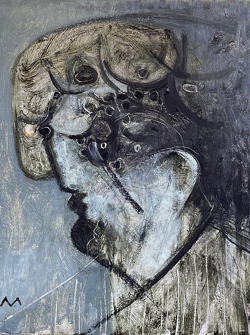 "MAYA: ""Continued Harmony"" ~ Original Oil on Canvas"