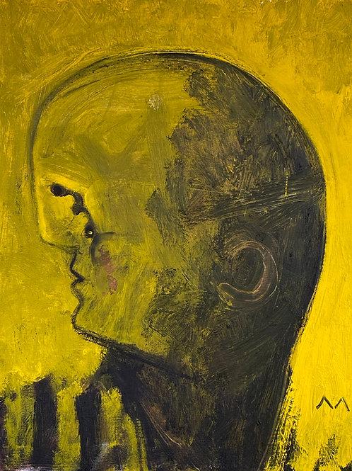 """MAYA: """"Within The Plexus"""" ~ Original Oil on Canvas"""