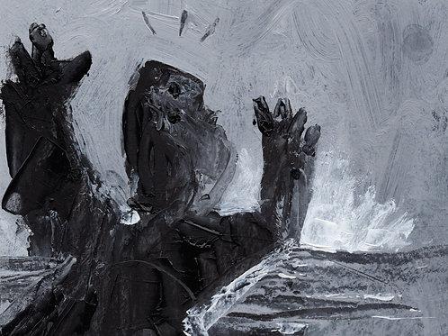 "ODYSSEY: ""Escapes"" ~ Original Oil on Paper"
