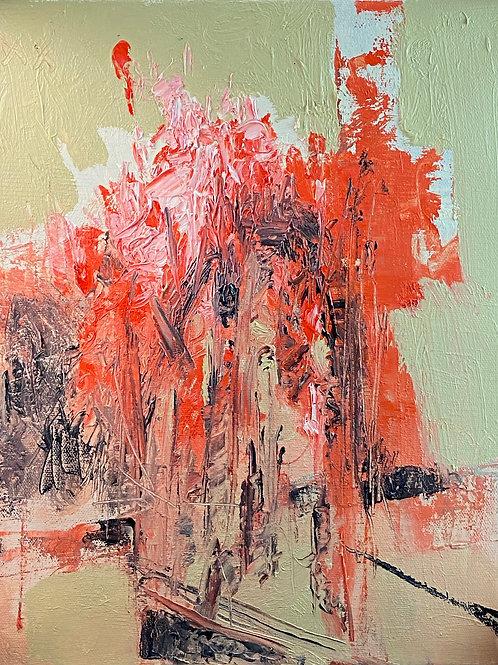 "EXODUS: ""Departures No.2"" ~ Original Oil on Canvas"