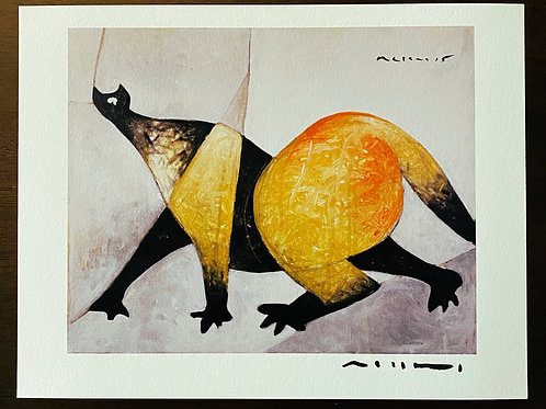 Limited Edition Giclee: ANIMALIA Prowling Cat (SERIES ONE)