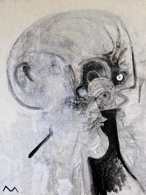 "MAYA: ""Daily Extinction"" ~ Original Oil on Canvas"