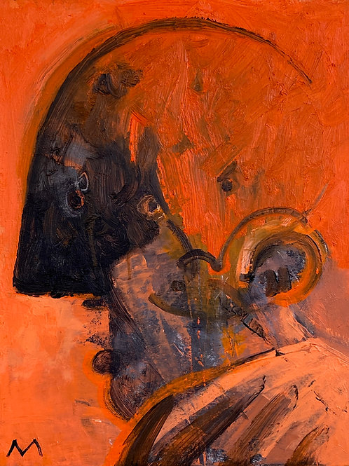 """MAYA: """"Optimistic"""" ~ Original Oil on Canvas"""