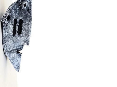 ODYSSEY: Personas No. 3 ~ Original Paper Mache Wall Sculpture