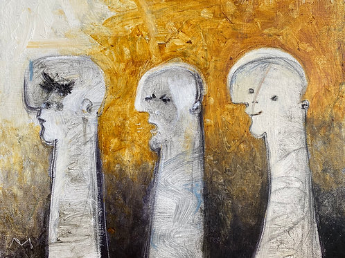 "FRAGMENTS: ""Awakenings"" ~ Original Oil on Canvas"