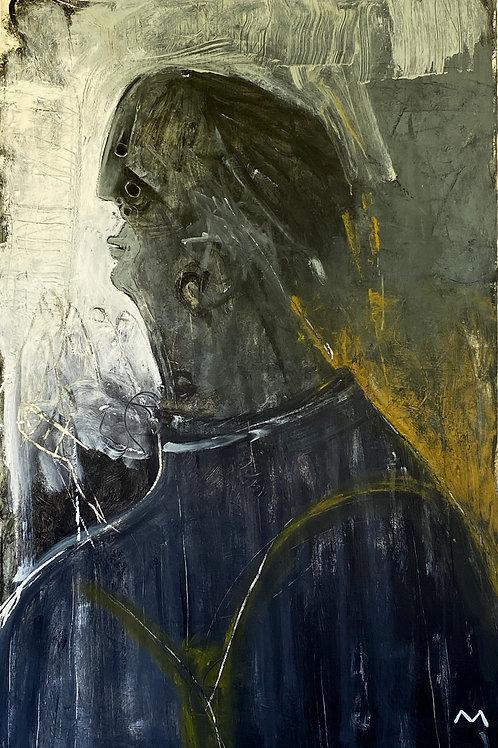 "MAYA: ""Propositions "" ~ Original Oil on Canvas"