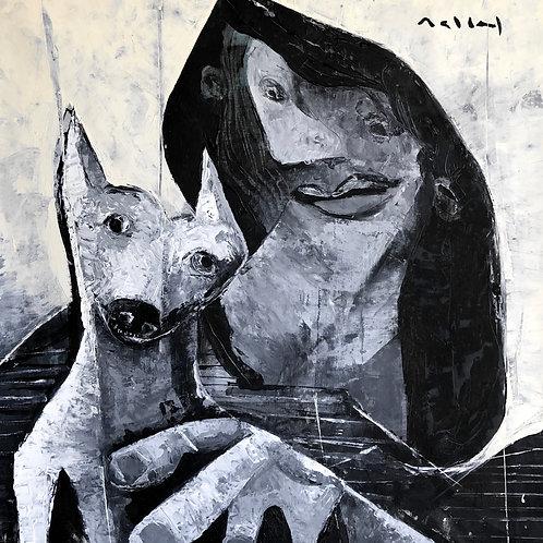 "MUTATIO: ""A Treaty of Beasts"" ~ Original Oil on Canvas"
