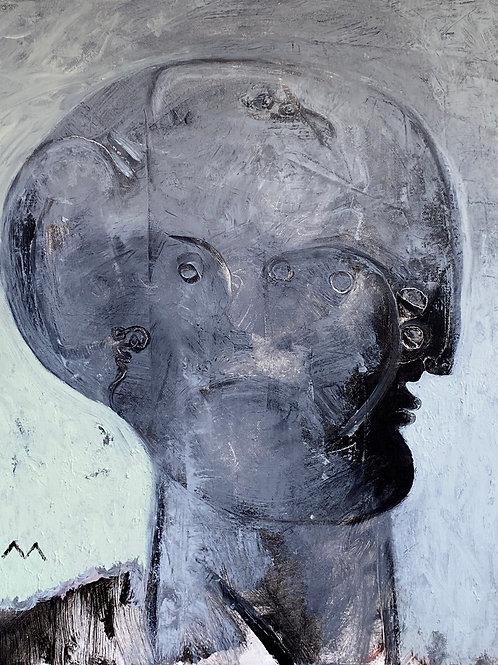 "MAYA: ""Ease"" ~ Original Oil on Canvas"