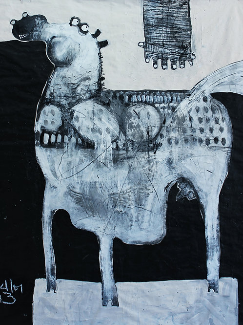 Limited Edition Giclee: ANIMALIA Equos NO.3(SERIES ONE)