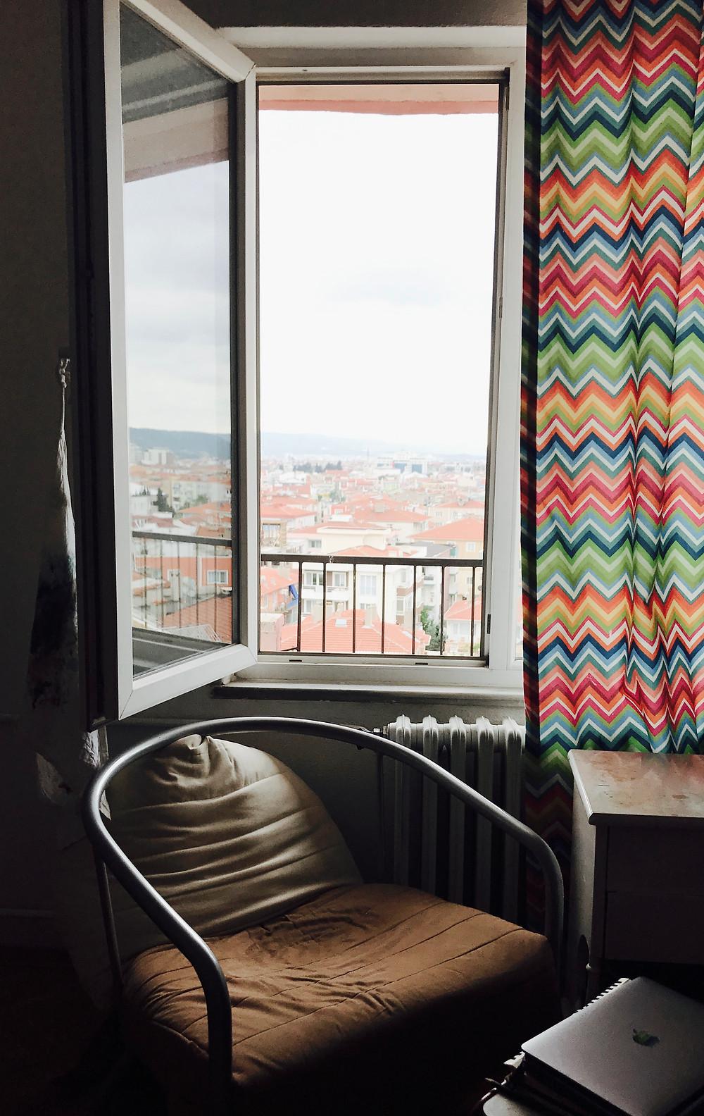 The window at The Studio