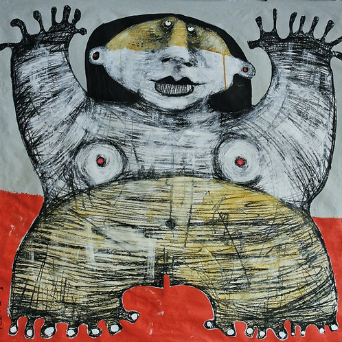 Limited Edition Giclee: GIGANTES NO.7 (SERIES ONE)