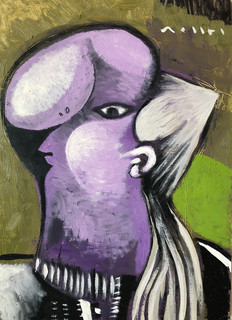 """""""Woman in Violet"""""""