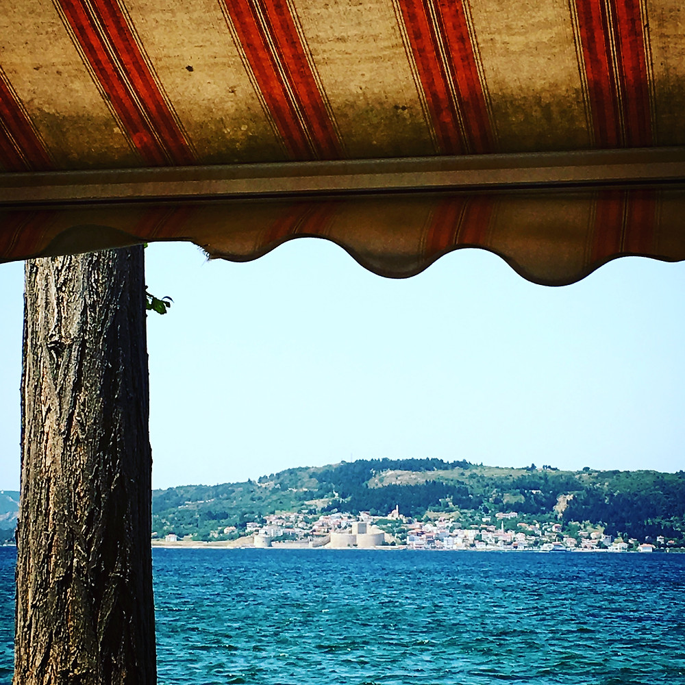 Tea House in Çanakkale | Mark M. Mellon