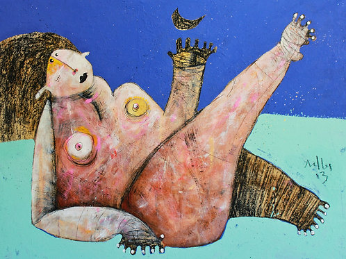 Limited Edition Giclee: LUNAM NO.4  (SERIES TWO)