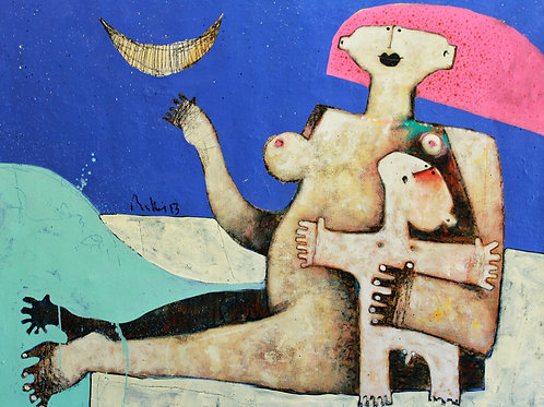 Limited Edition Giclee: LUNAM NO.6  (SERIES TWO)