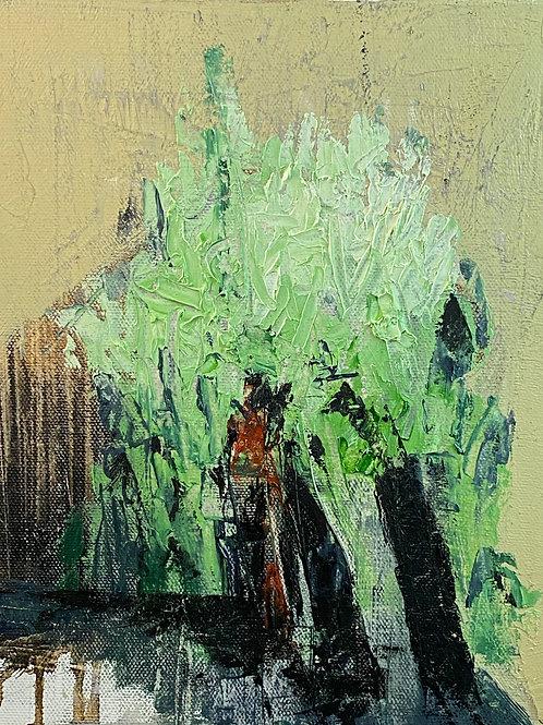 "EXODUS: ""Departures No.3"" ~ Original Oil on Canvas"