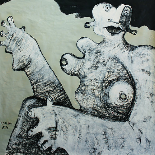 Limited Edition Giclee: GIGANTES NO.1 (SERIES ONE)