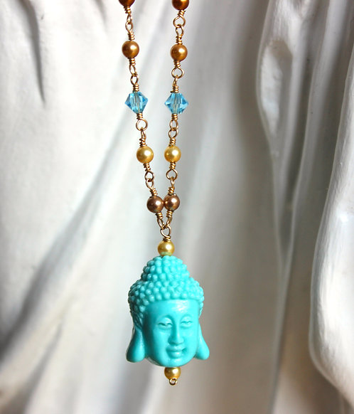 "Buddha 32"" Necklace"