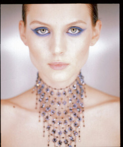 Vitraux Bib Crystal Flowers Necklace