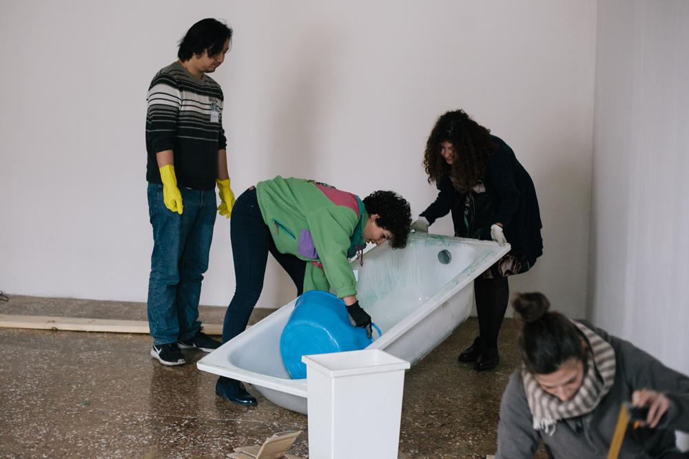 Venice International Performance Art Week 2016, Backstage