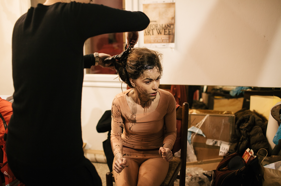 Venice International Performance Art Week 2016, Backstage