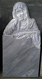 памятник из мрамора, скорбящая из мрамора