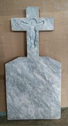 крест из мрамора, памятник из мрамора