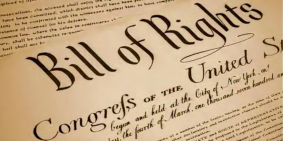 The Bill of Rights:  Washington to Washington