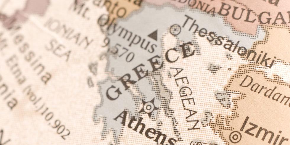 Greece - © bereau/#7170780/Greece map detail/fotolia.com