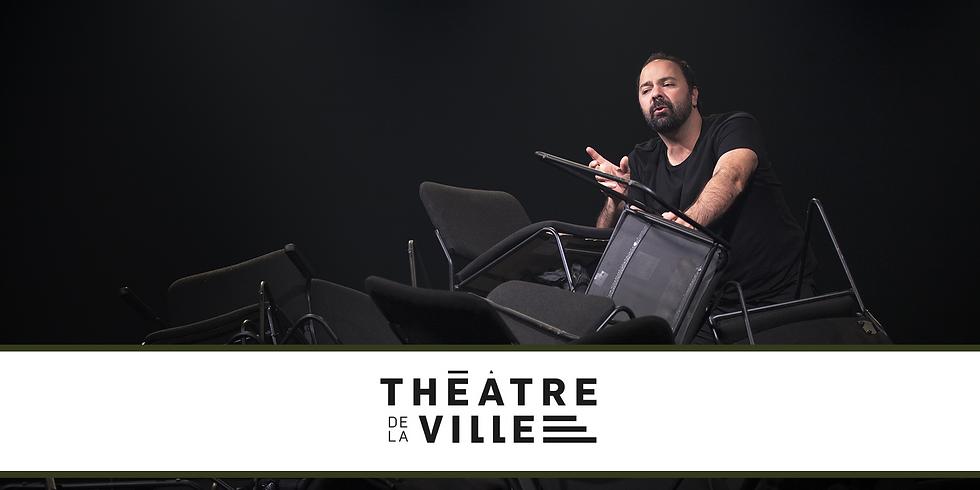 """Le Théâtre de la ville présente """"Zéro"""" de Mani Soleymanlou"""
