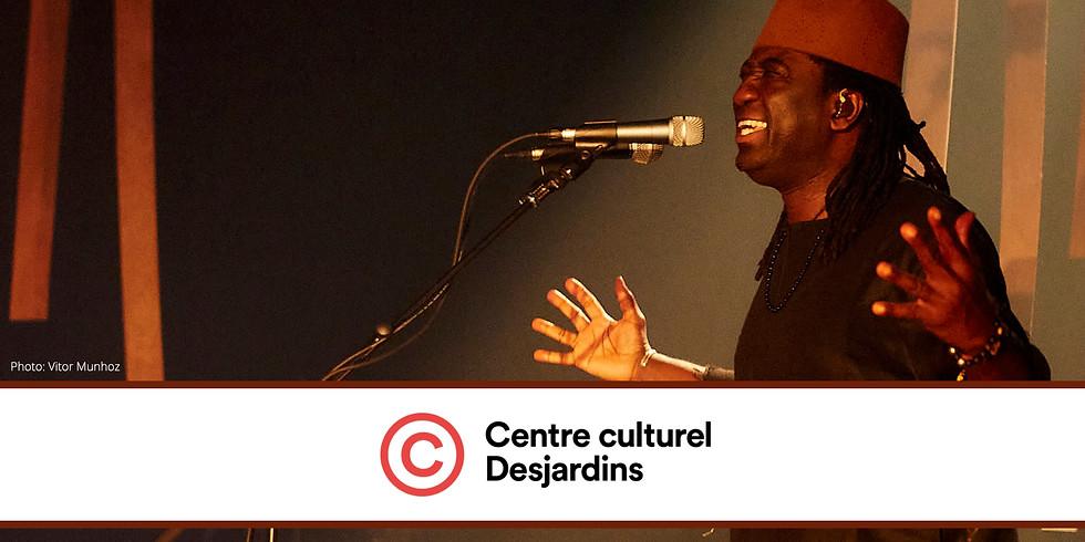 Le Centre culturel Desjardins présente Wutiko, le tout nouveau spectacle d'Élage Diouf