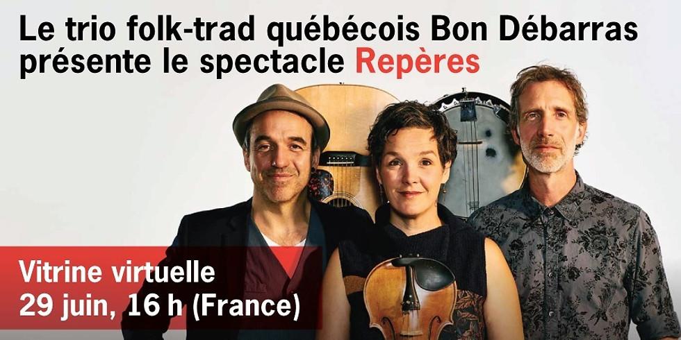 """Bon Débarras (Québec) présente son spectacle """"Repères"""" (événement pro)"""