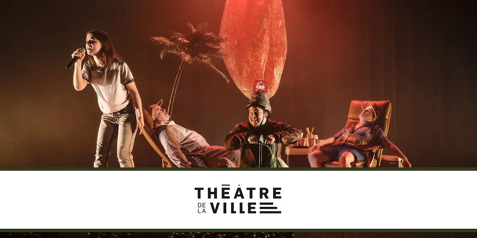 SCOLAIRE - Le Théâtre de la ville présente Le poids des fourmis de David Paquet, mise en scène de Philippe Cyr