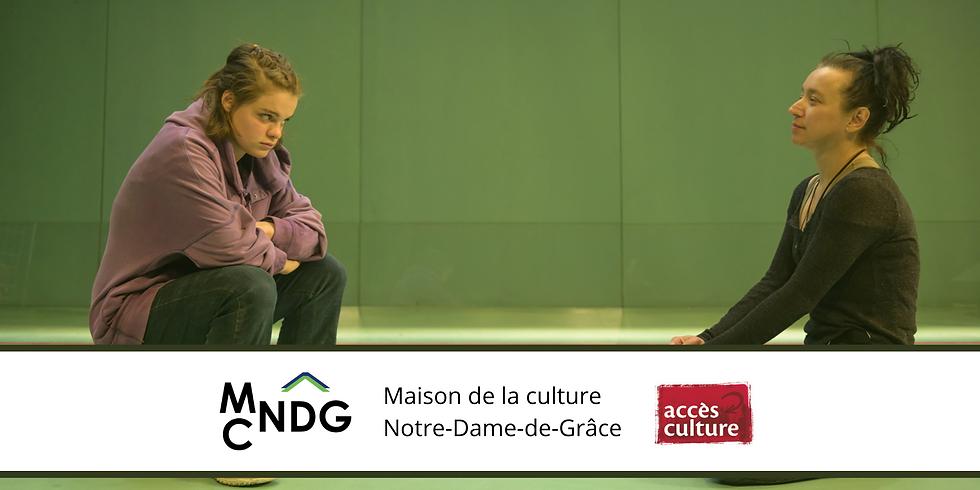 """La Maison de la culture Notre-Dame-de-Grâce présente """"21"""" de Rachel Graton"""