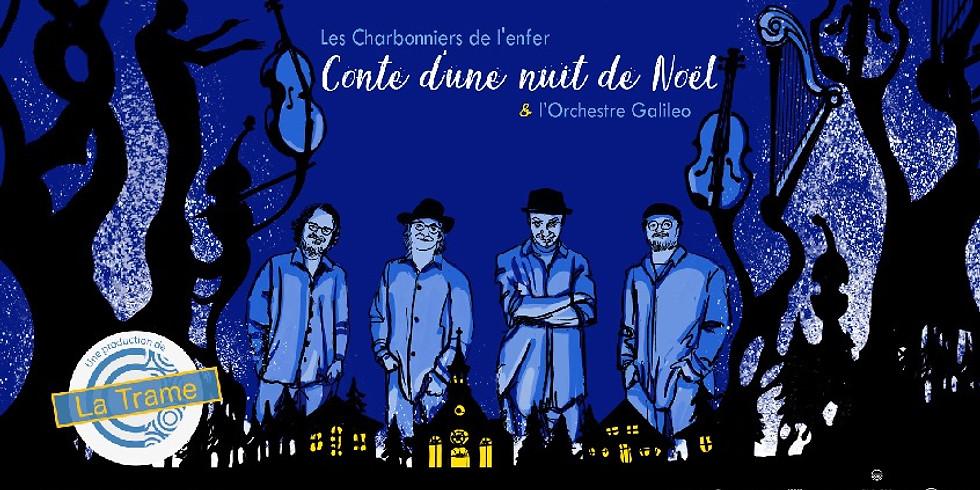 """Le Théâtre Gilles-Vigneault présente """"Conte d'une nuit de Noël"""""""