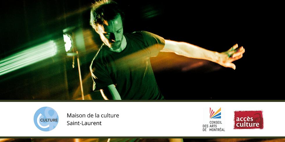 La Maison de la culture Saint-Laurent présente la Soirée de gigue contemporaine virtuelle