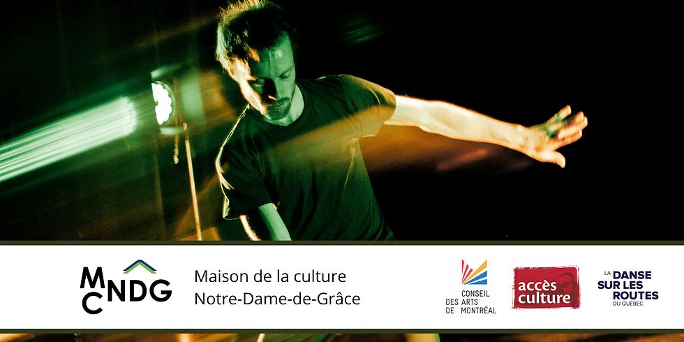 La Maison de la Culture Notre-Dame-de-Grâce présente la Soirée de gigue contemporaine virtuelle