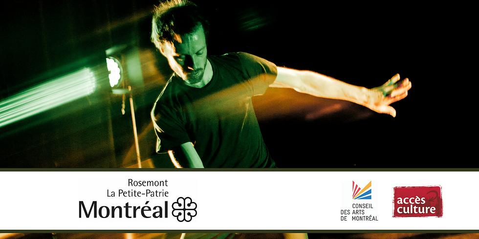 La Maison de la culture de Rosemont La Petite-Patrie présente la Soirée de gigue contemporaine virtuelle