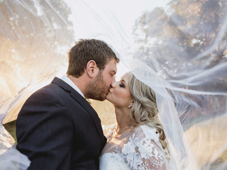 Werner and Marisca's beach town wedding