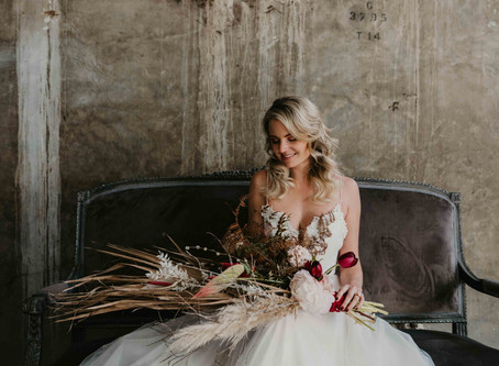 Leah Van Niekerk - May, Bride-of-the-Month (Autumn Pink styled shoot)