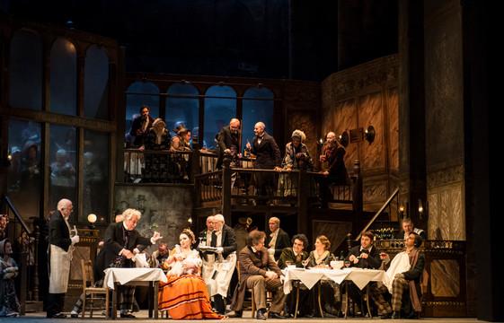 LA BOHEME at the Royal Opera House 1