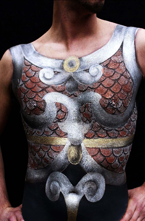 Body Painting of an armour.jpg