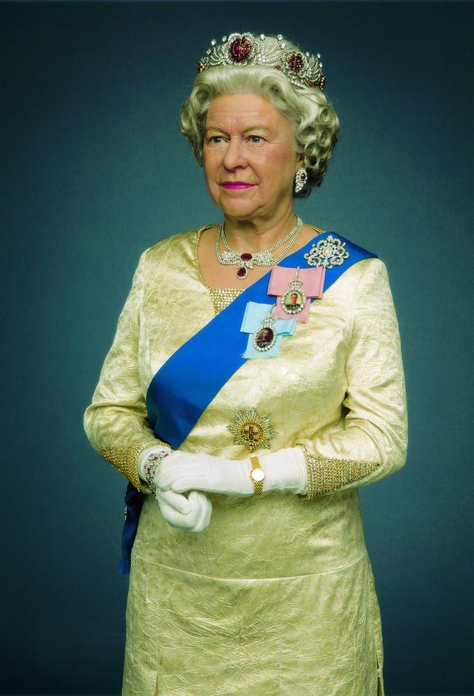 Queen Elizabeth II - wax figure at Madame Tussauds 2