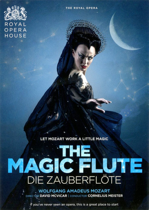 Royal Opera House Poster for the Magic Flute 1