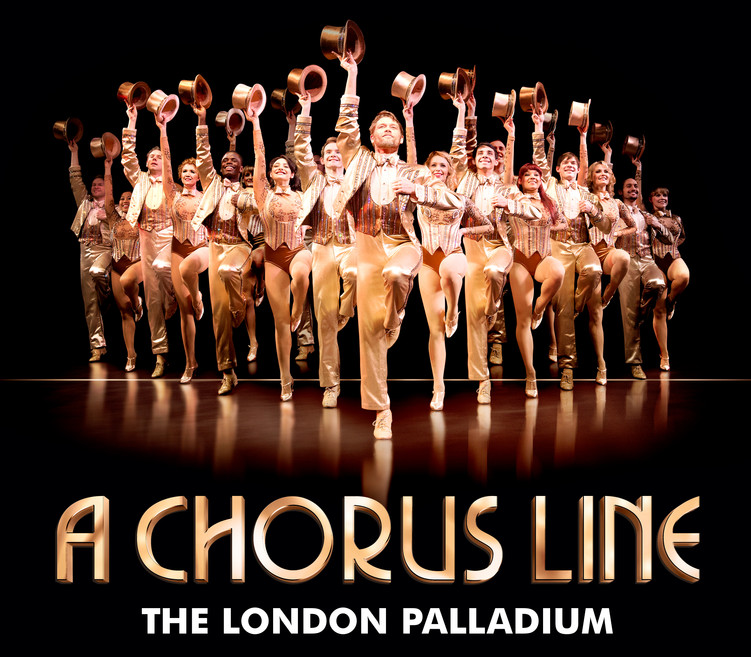 CHORUS LINE at the London Palladium 1