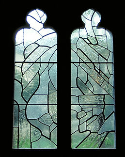 stained glass, Robert Pinart, National Cathedral, Wilmark Studios