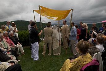 Jewish wedding, wedding canopy, chuppah, Nancy Katz & Mark Liebowitz wedding
