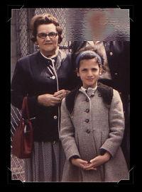 Anna M. Katz & grandaughter nancy Katz
